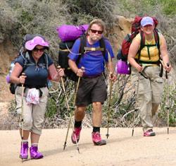 Прості і складні маршрути в туристичних походах