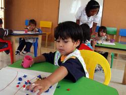 Спеціальні заняття та ігри для розвитку дитини